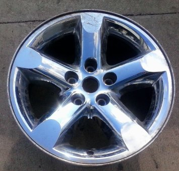 Sandblast Powdercoat Inch Dodge Ram Truck Oem Chrome Clad Alloy Wheel Rim X Jy Trma on Dodge 1500 Rims