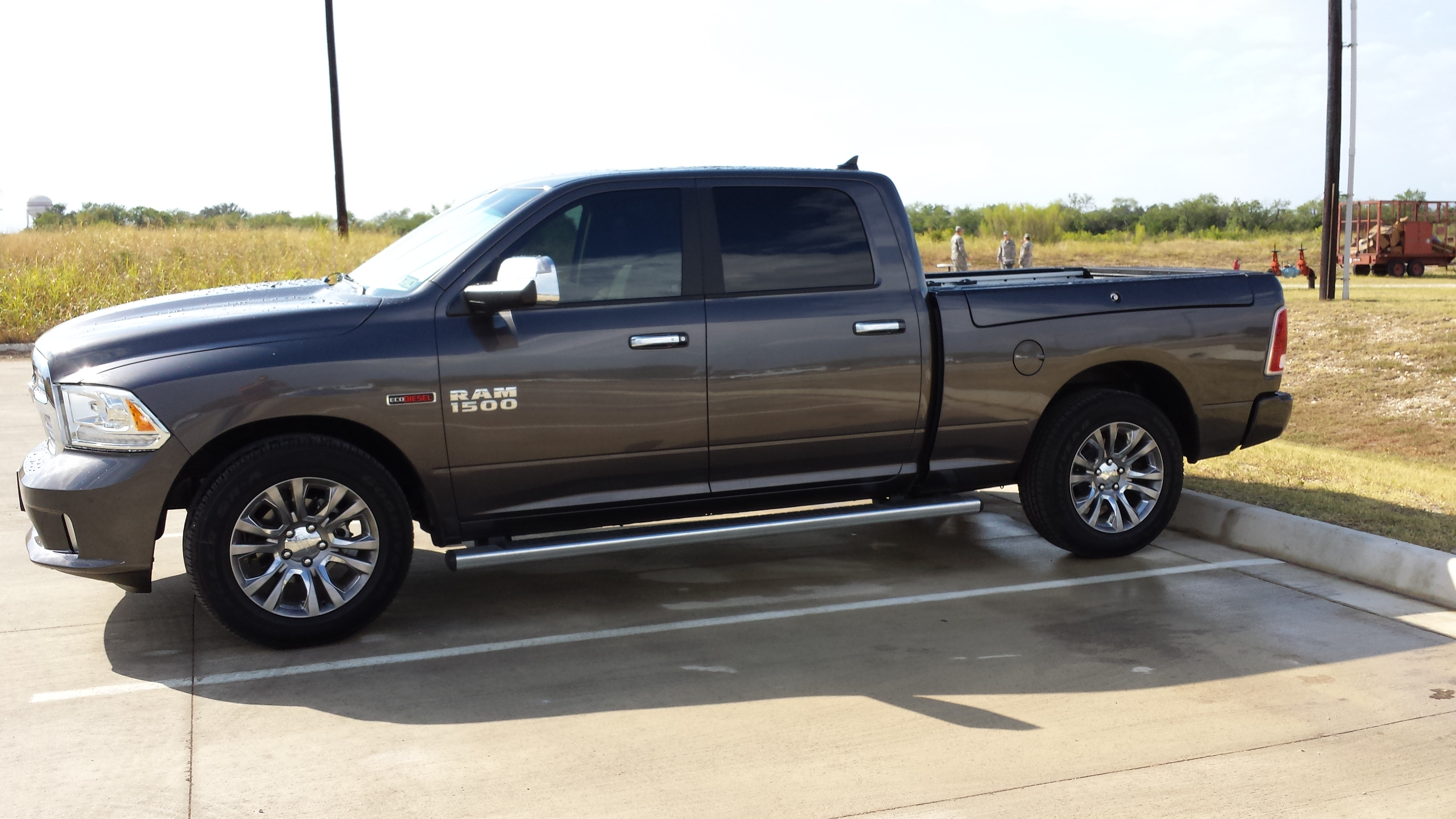 Ram 1500 Running Boards >> Limited Trim Running Boards On 6 4 Box