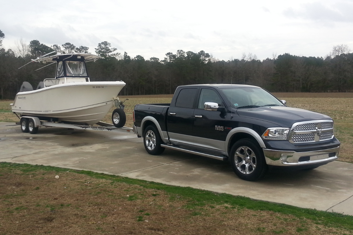 2015 Ram 1500 Towing Capacity >> First fishing trip towing with my ecodiesel