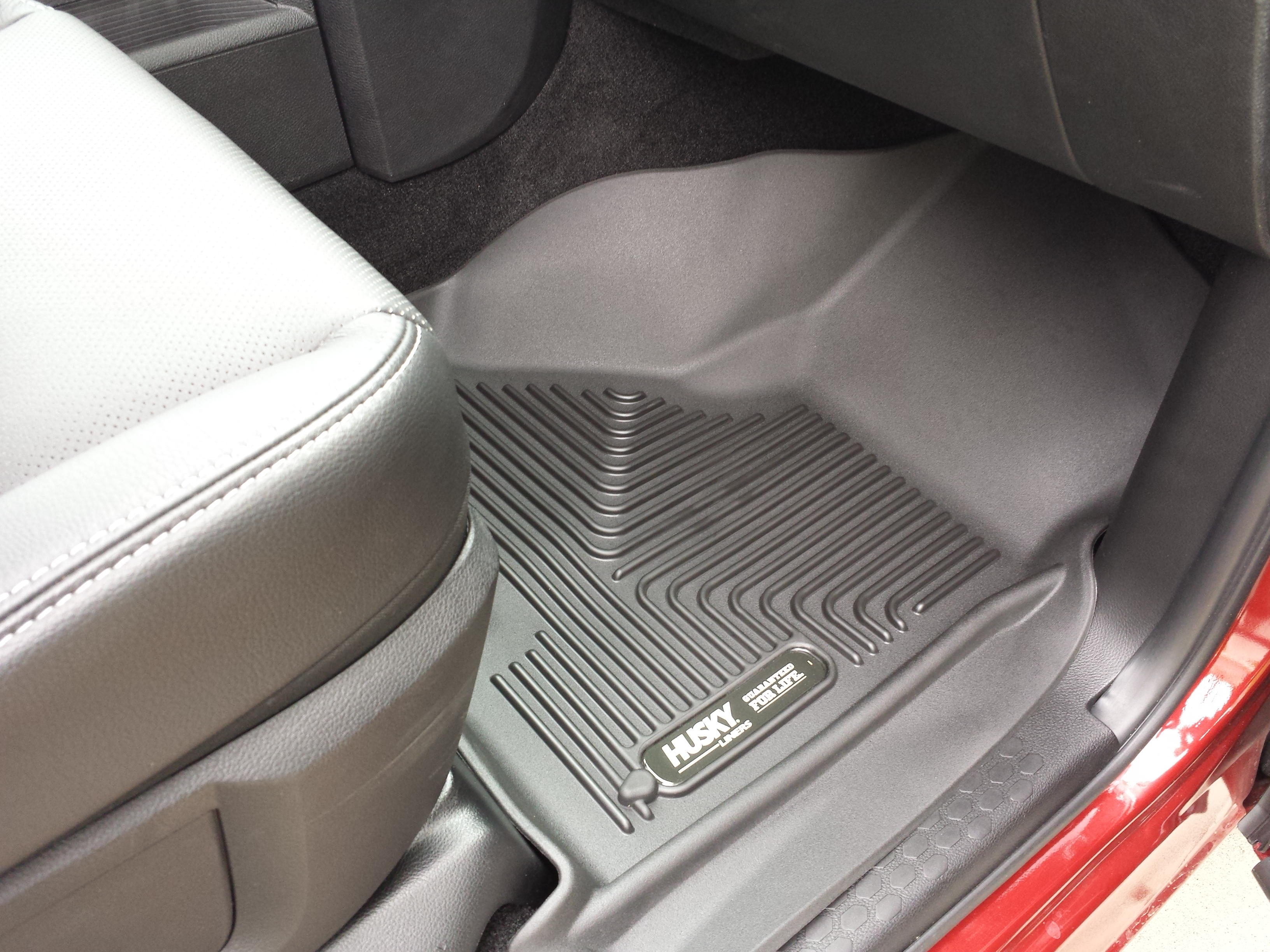 the floor ford liners husky mats by front seat for focus rs liner