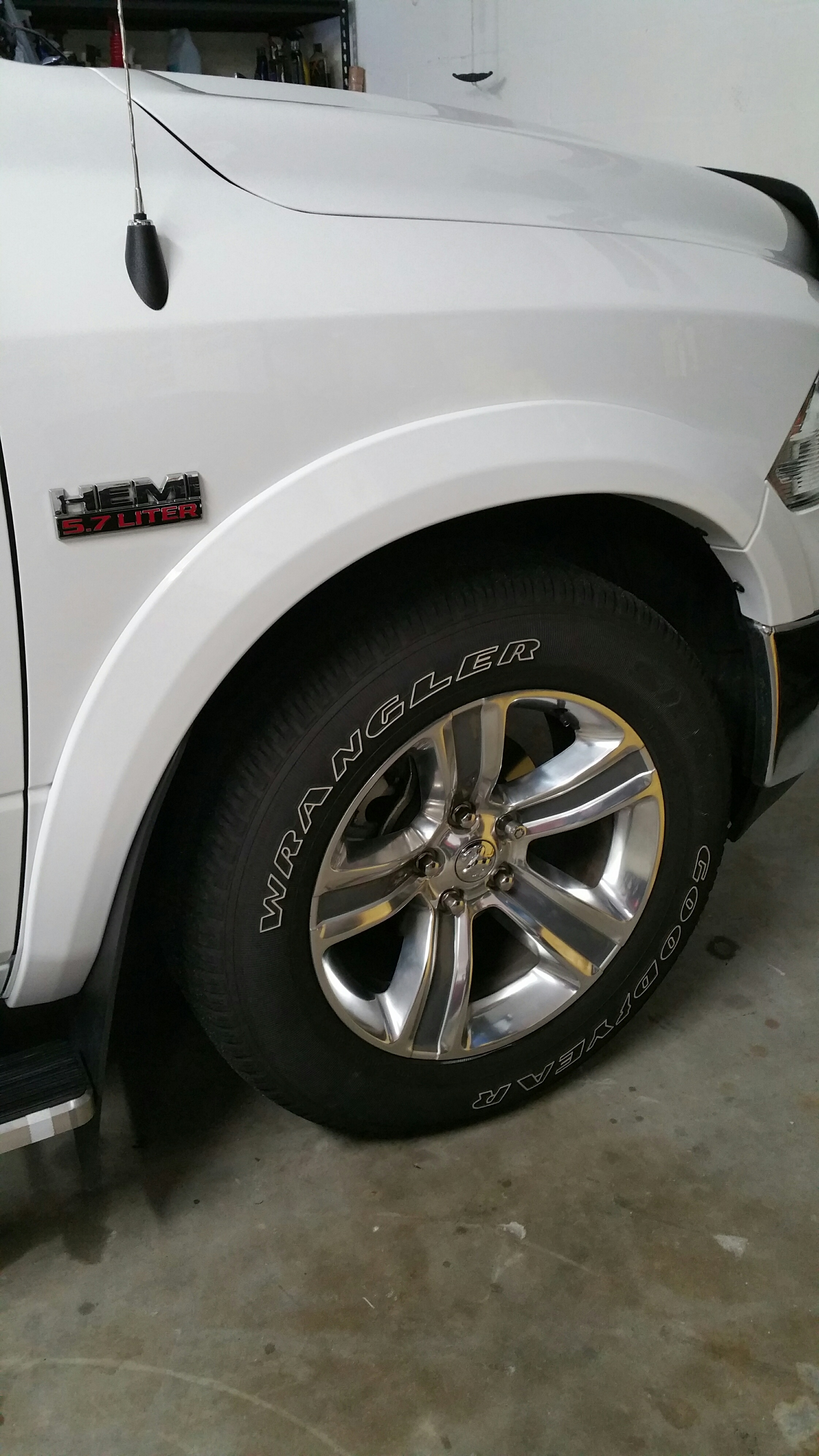 D I Need Fender Flares Resized on Dodge 1500 Front Bumper
