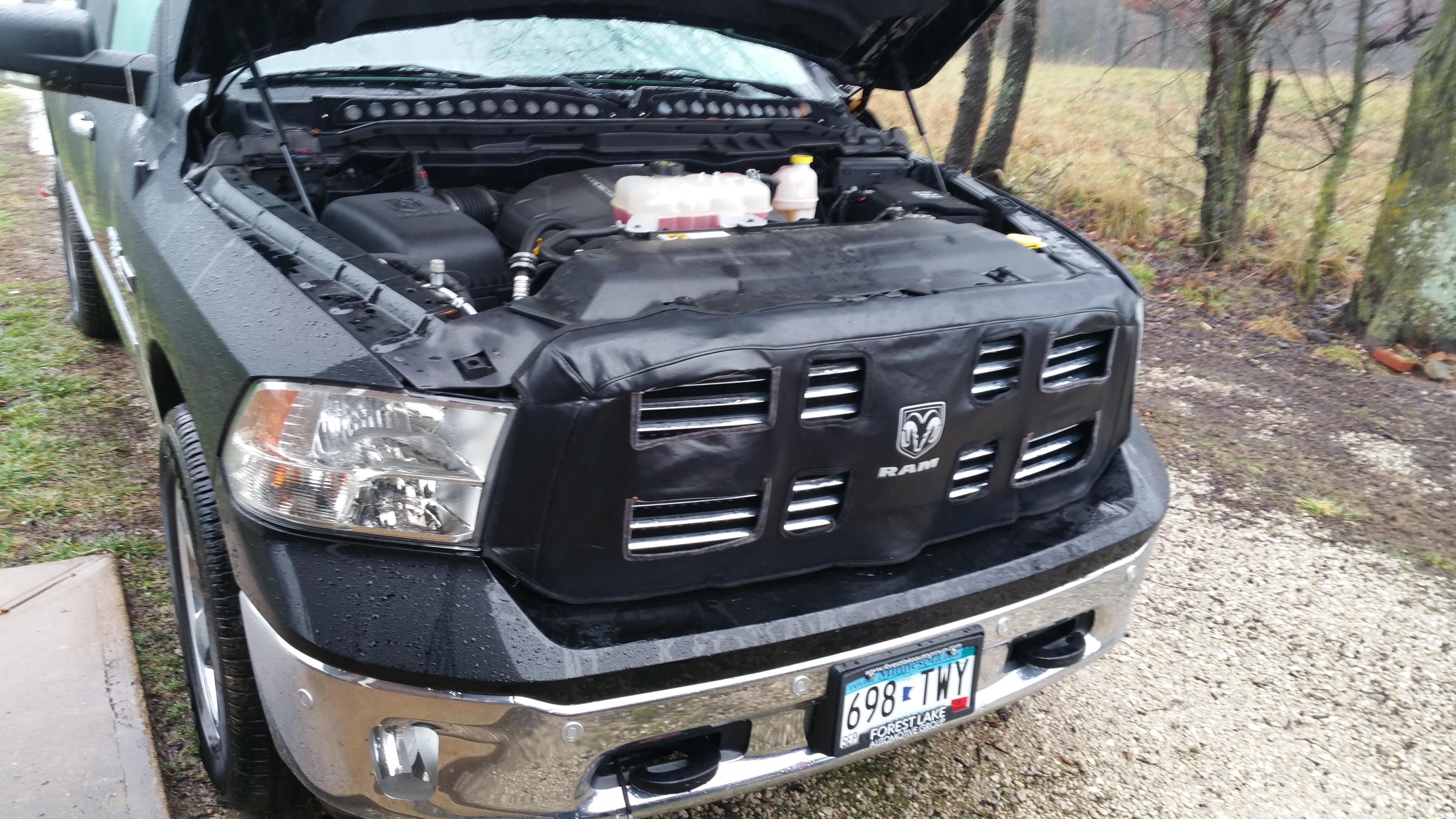 Winter Grill Cover Fix Ram 1500 Diesel Forum