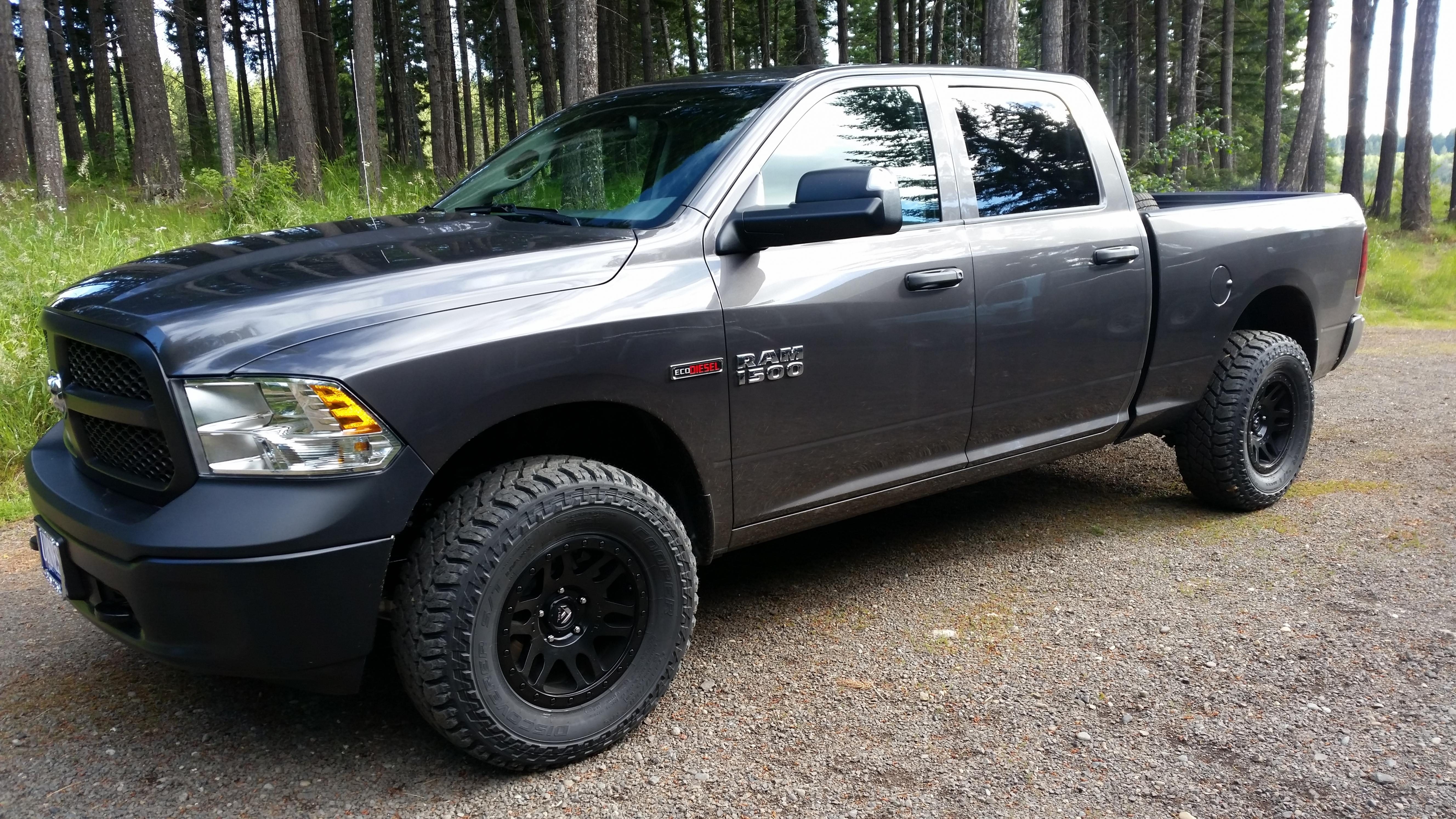 34 Inch Tires On Stock Truck With Air Suspension 2016 06 18