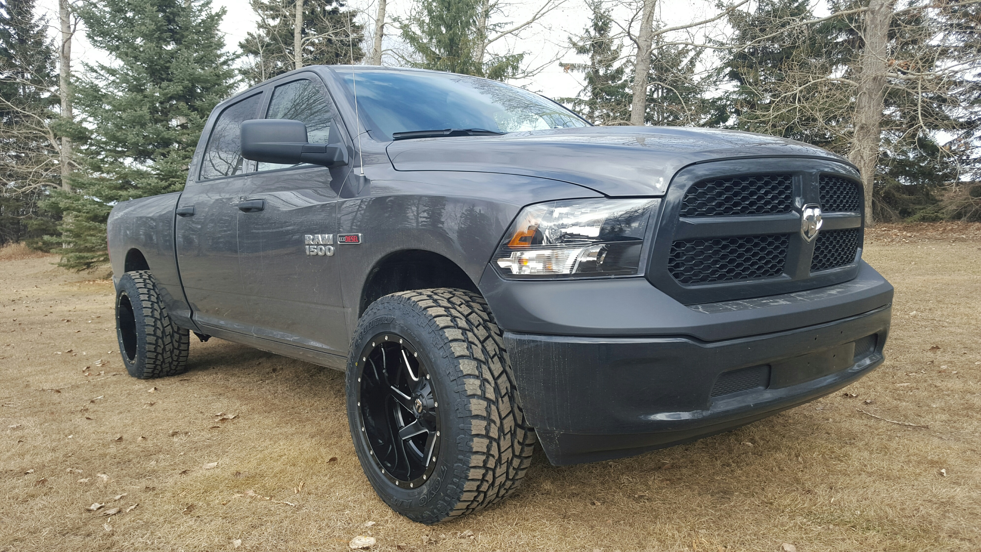 Dodge Ram 1500 Diesel >> New Boots on the Tradesman!