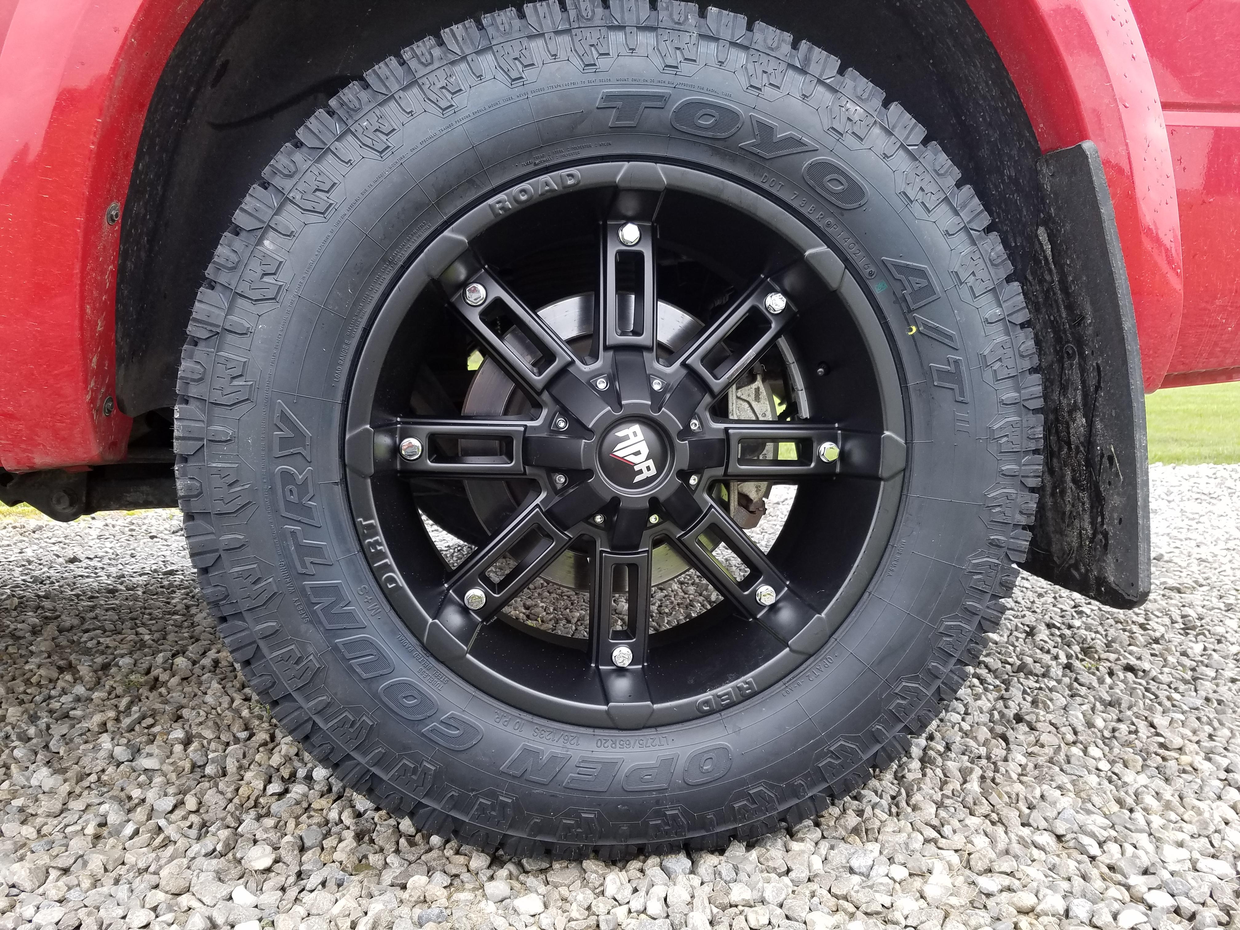 Dodge Ram 1500 Diesel >> Anyone run 275/65R20 tires? - Page 3