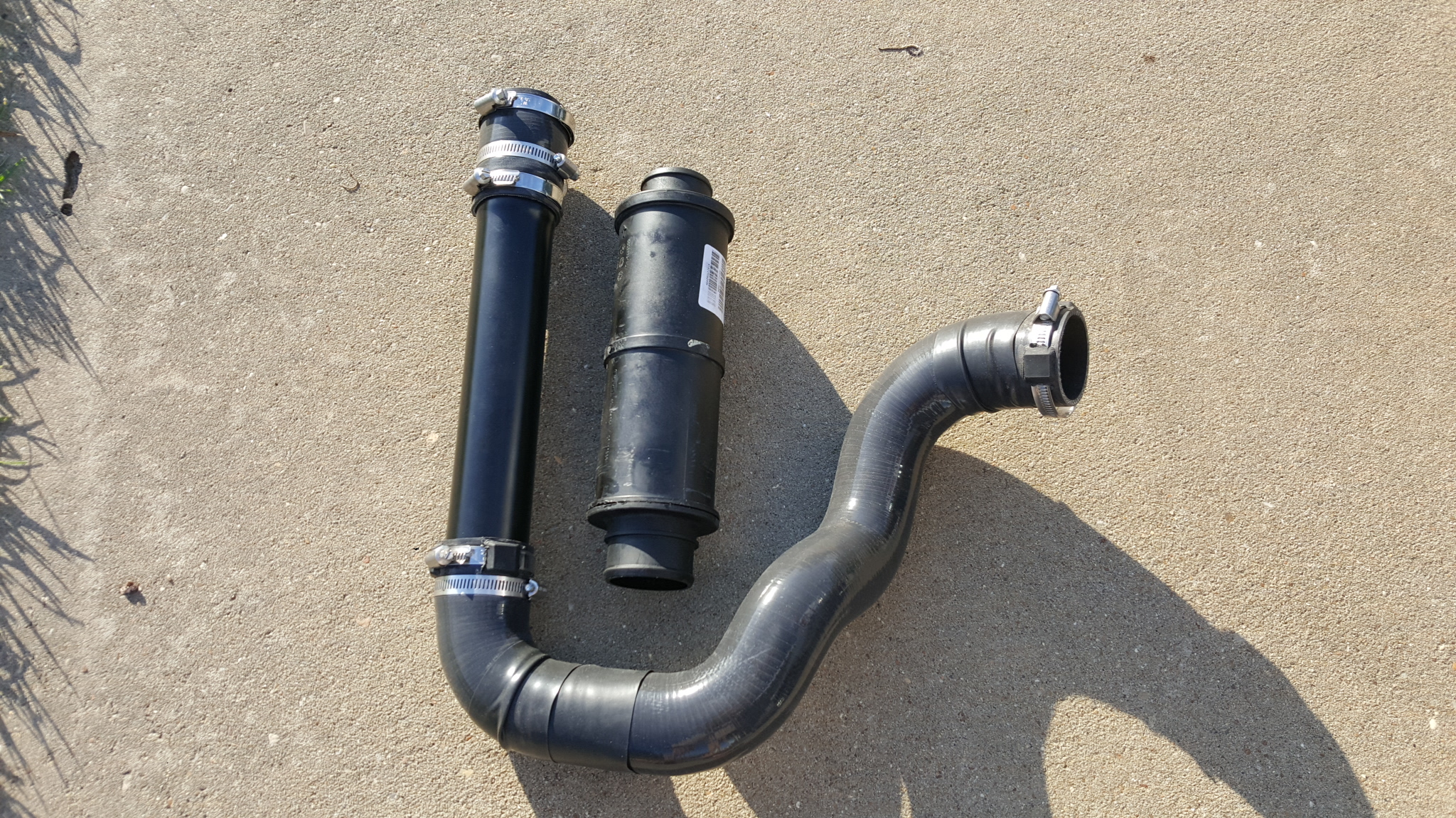 Ram 1500 Exhaust >> MBRP Intercooler pipes - Page 3