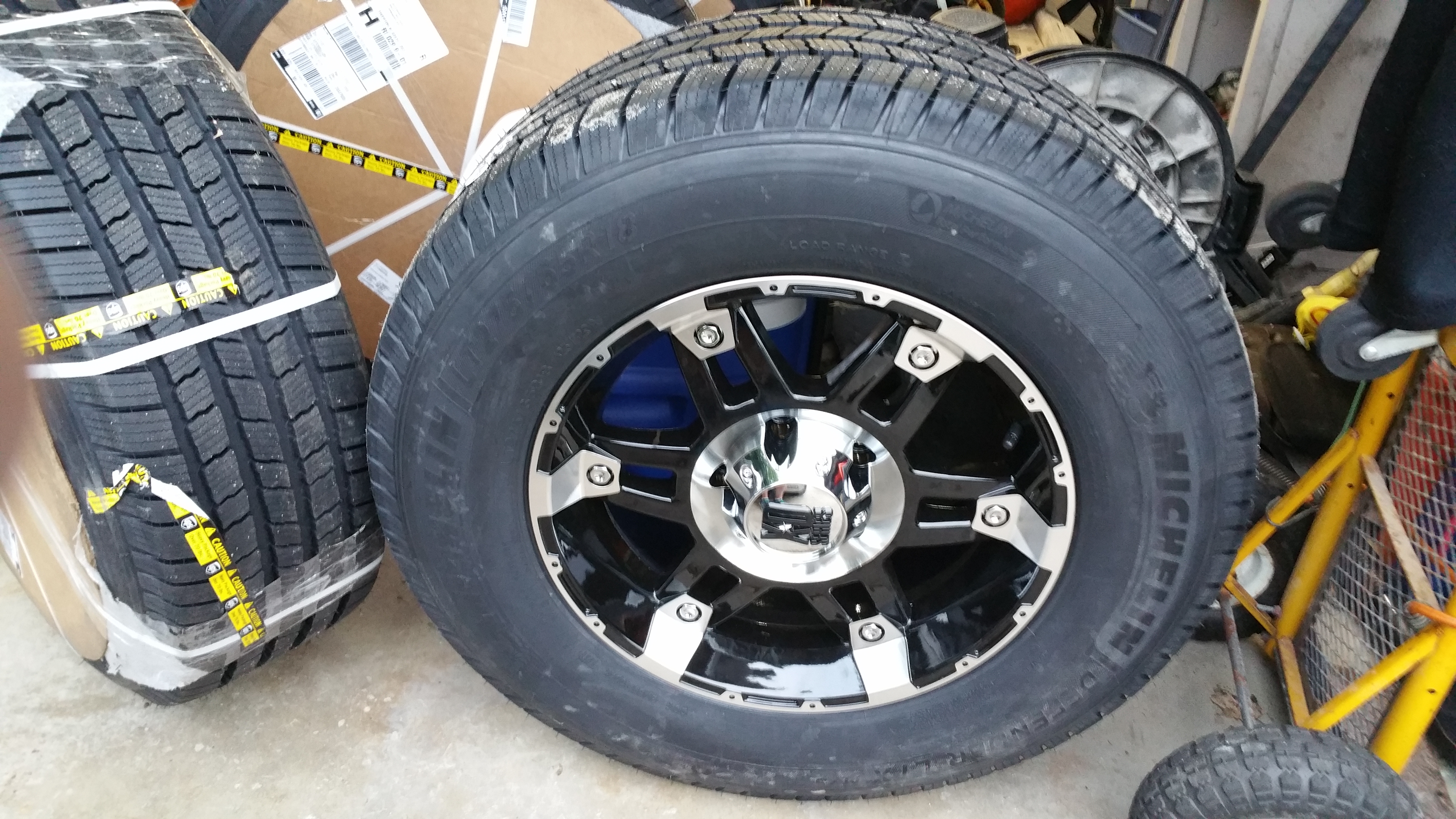 """What Size Are My Tires >> New 18"""" Wheel & Tire Combo!!"""