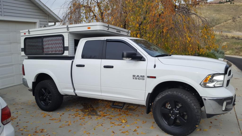 Ram Seat Covers >> Kevin's 2015 ED Outdoorsman w/ Four Wheel Eagle Camper