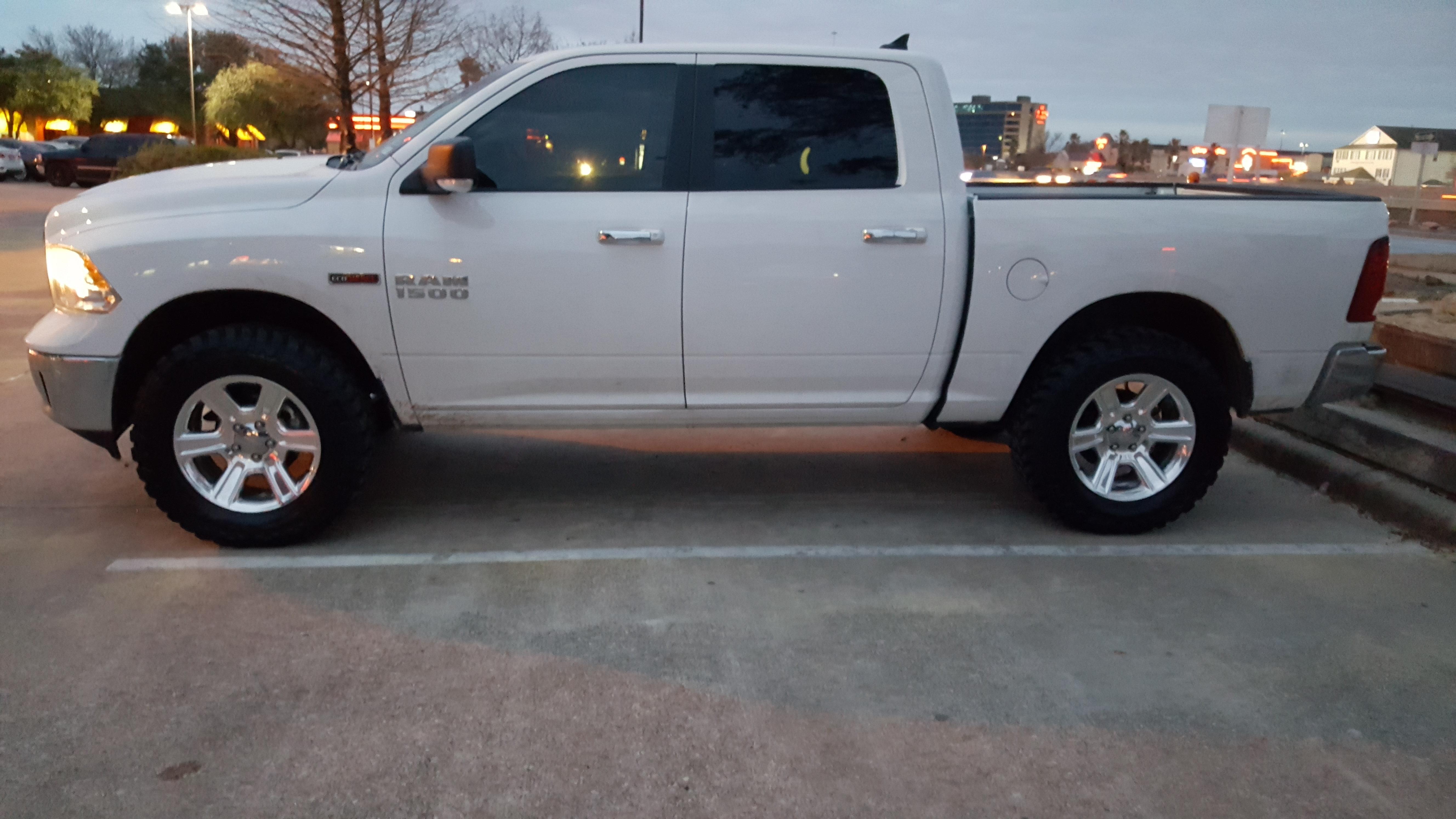 bilstein ram 1500 leveling kit front rear ram1500diesel 4x4