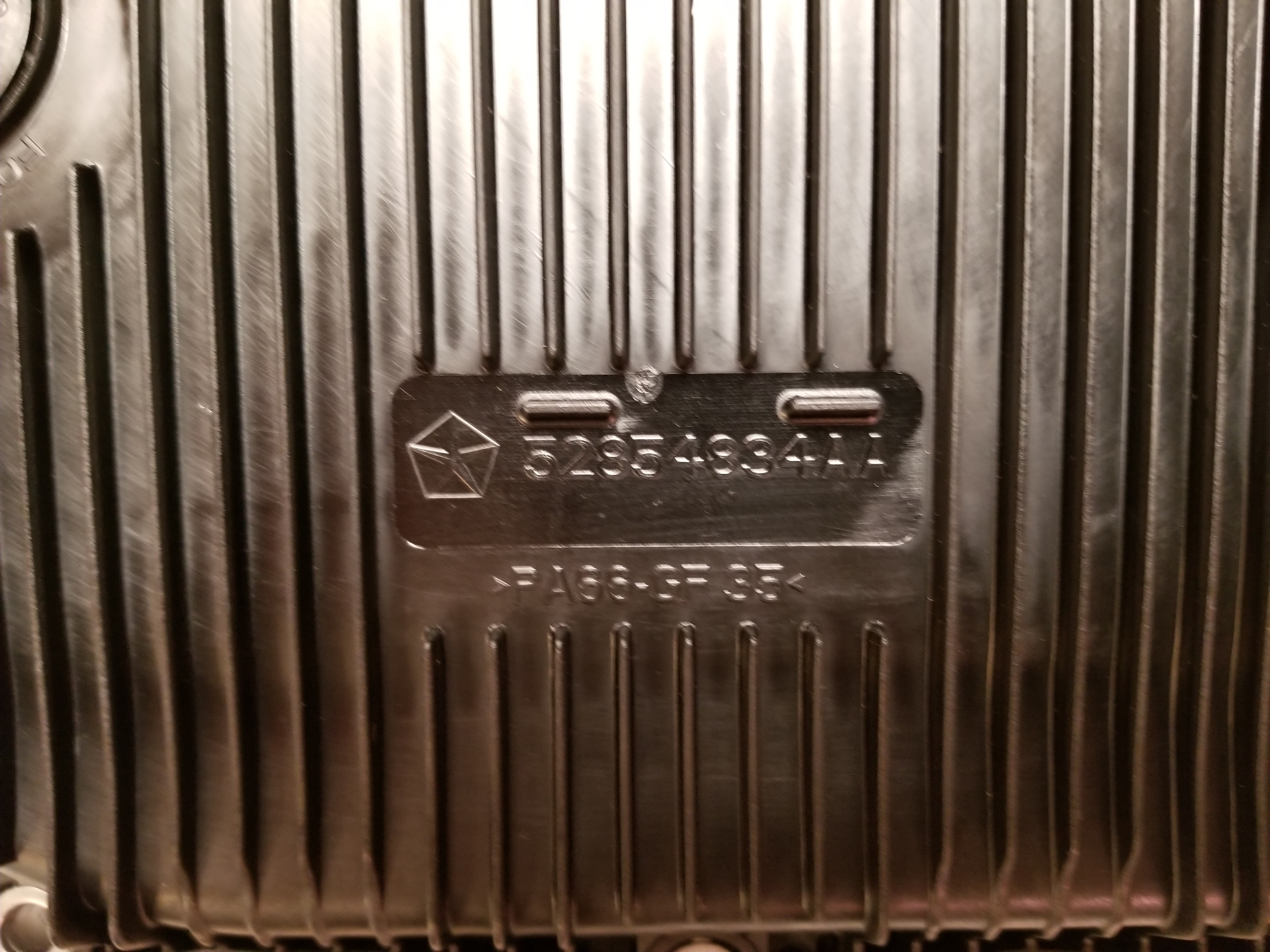ZF 8HP plastic transmission pan differences