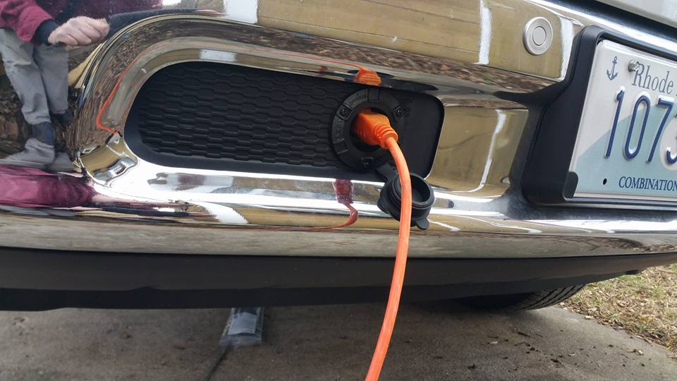 Front Bumper Block Heater Cord Outlet Page 6