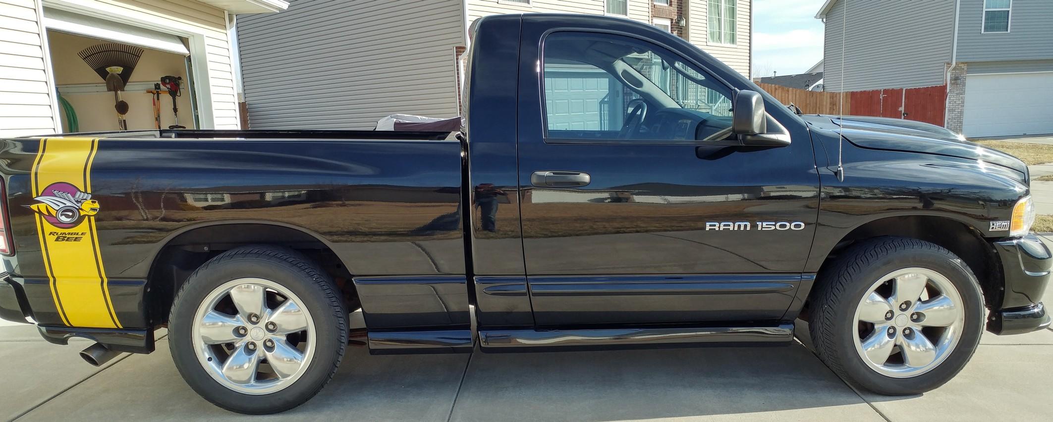 For Sale: 2004 Dodge Ram 1500 4x4 Rumble Bee