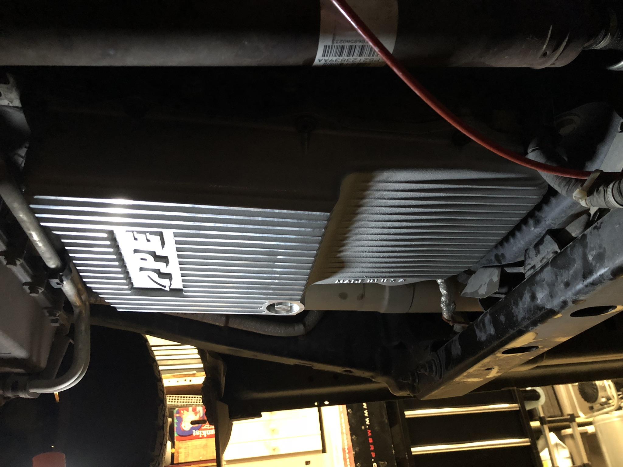 Ram Big Horn >> PPE transmission pan upgrade