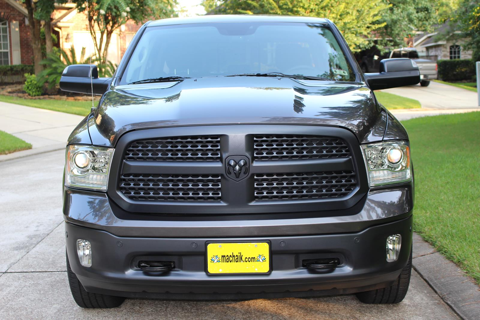 Aftermarket Ram Emblems >> Express black out edition - Page 2