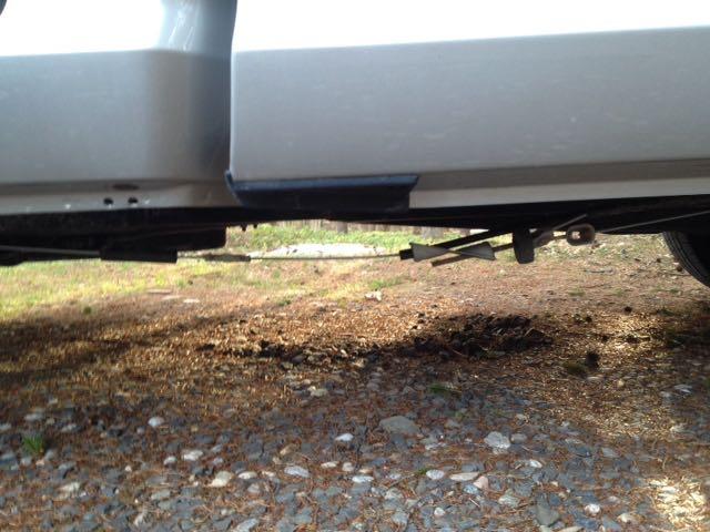 Dodge Ram 1500 2017 >> Emergency brake cable sag