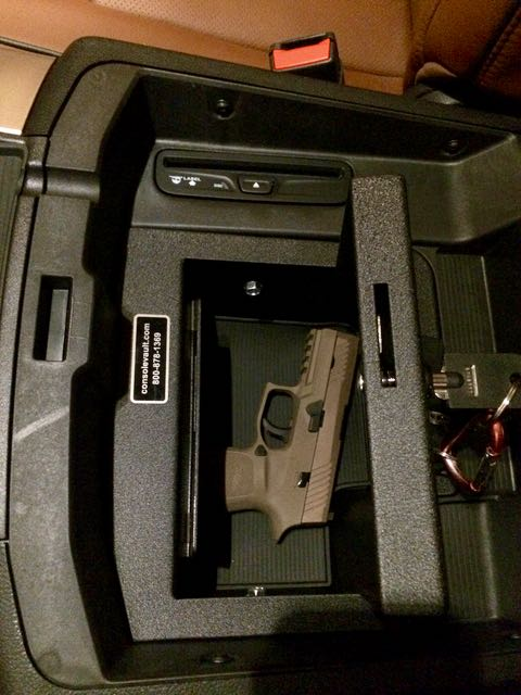 concealed weapon lock box for ecodiesel