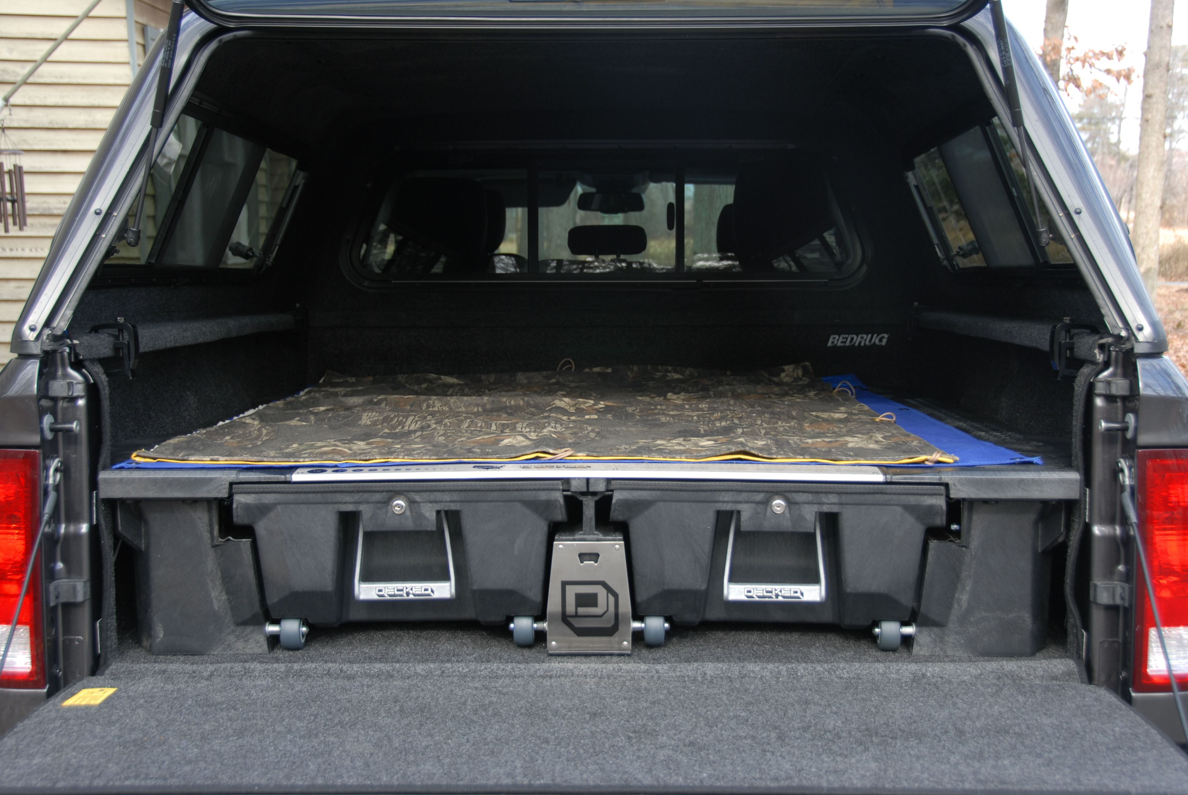 Truck Cap And Bed Liner Combo Suggestiont
