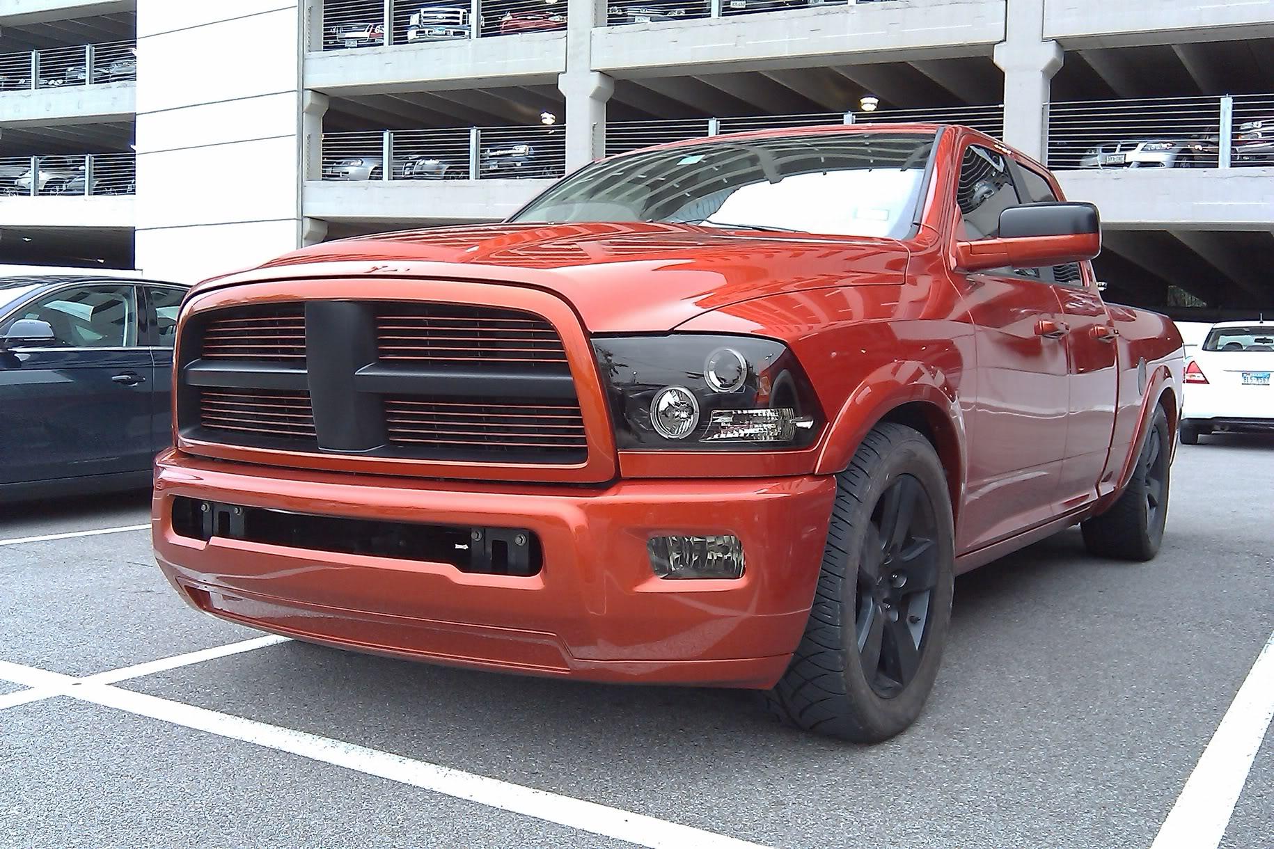 Dodge Ram Ecodiesel >> 2500 bumper on 1500