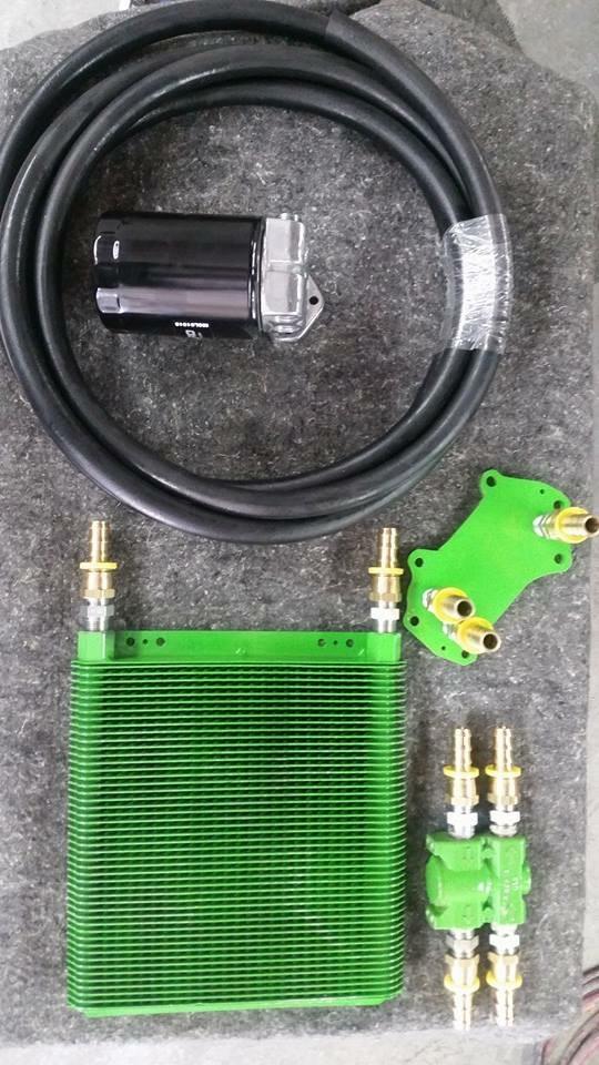 Oil cooler delete/upgrade
