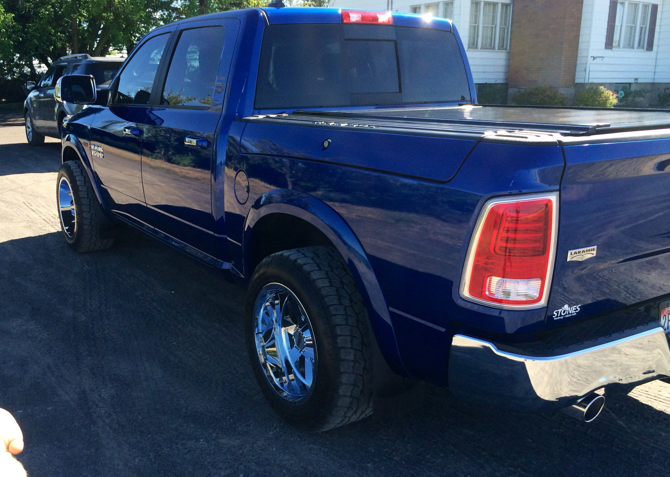 Dodge Ram 1500 Diesel >> 20x12 Wheels will they fit? - Page 2