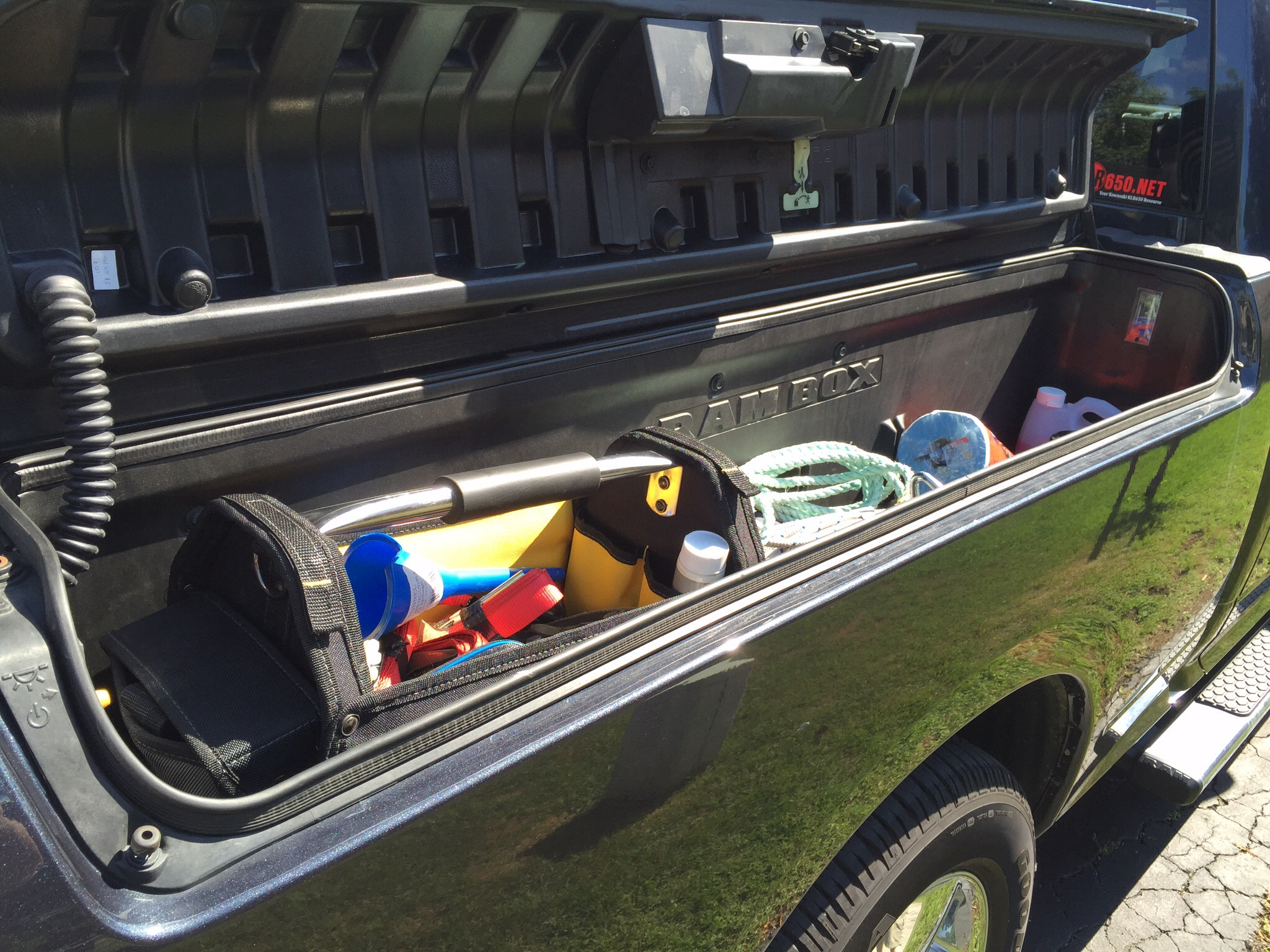 Homeade Truck Bed Storage
