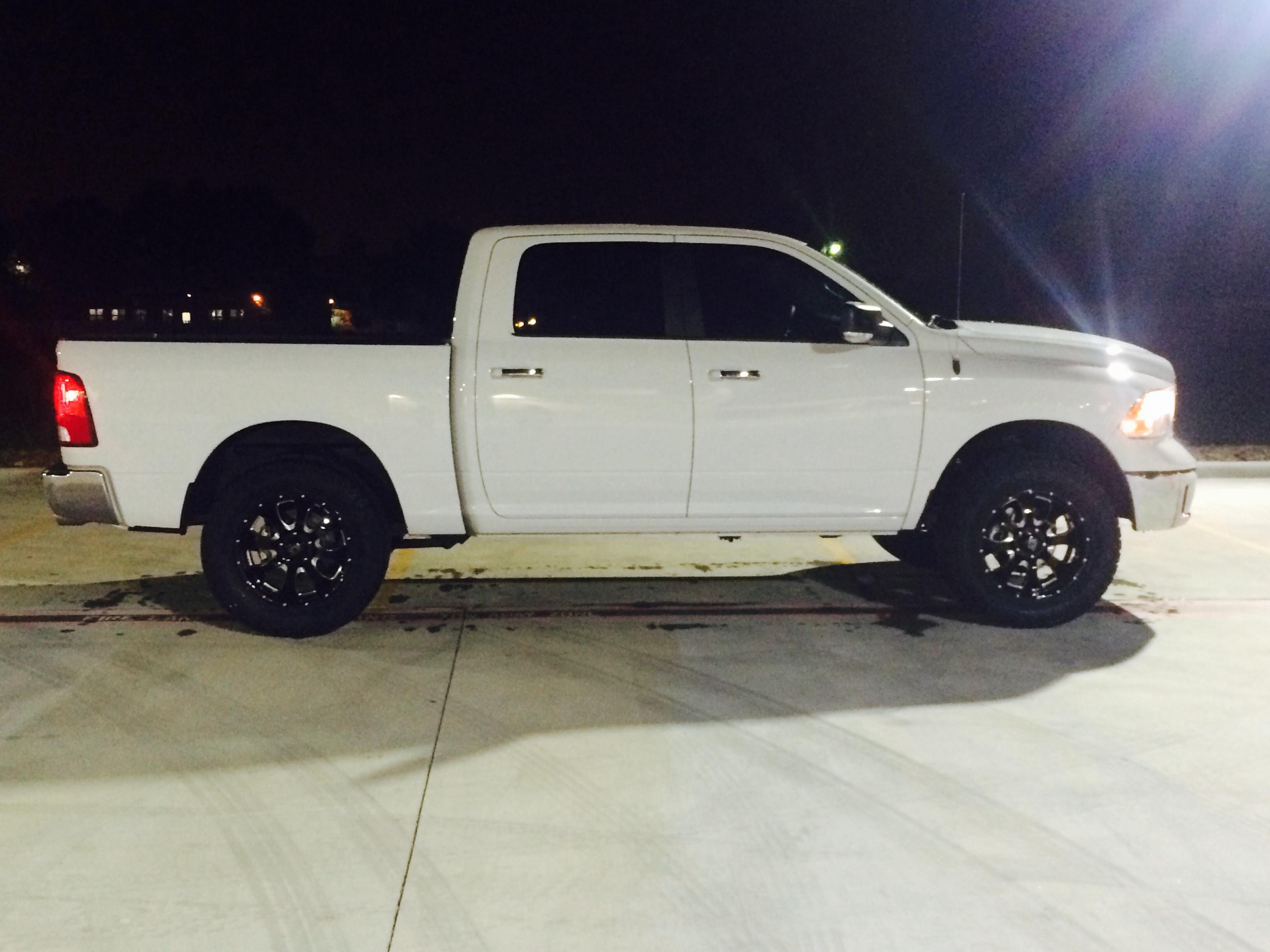 Eco Diesel >> White Lone Star build