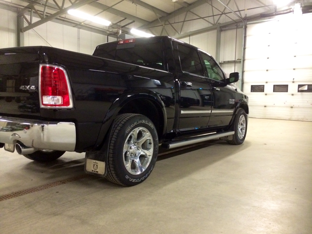 Mud Flaps/splash guards for trucks with factory wheel to ...