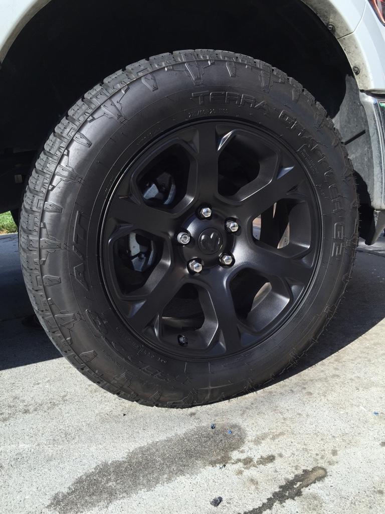 Plasti Dipped Wheels