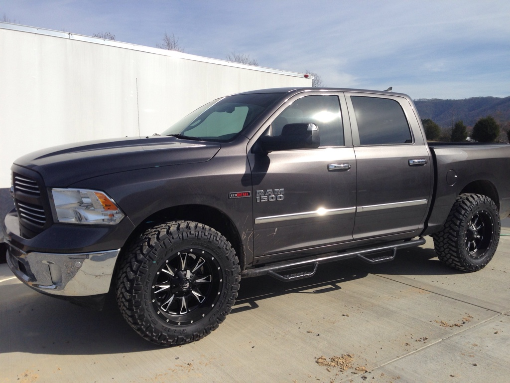 2015 Ram 1500 Leveling Kit >> Level, body lift, and 35's - Page 2