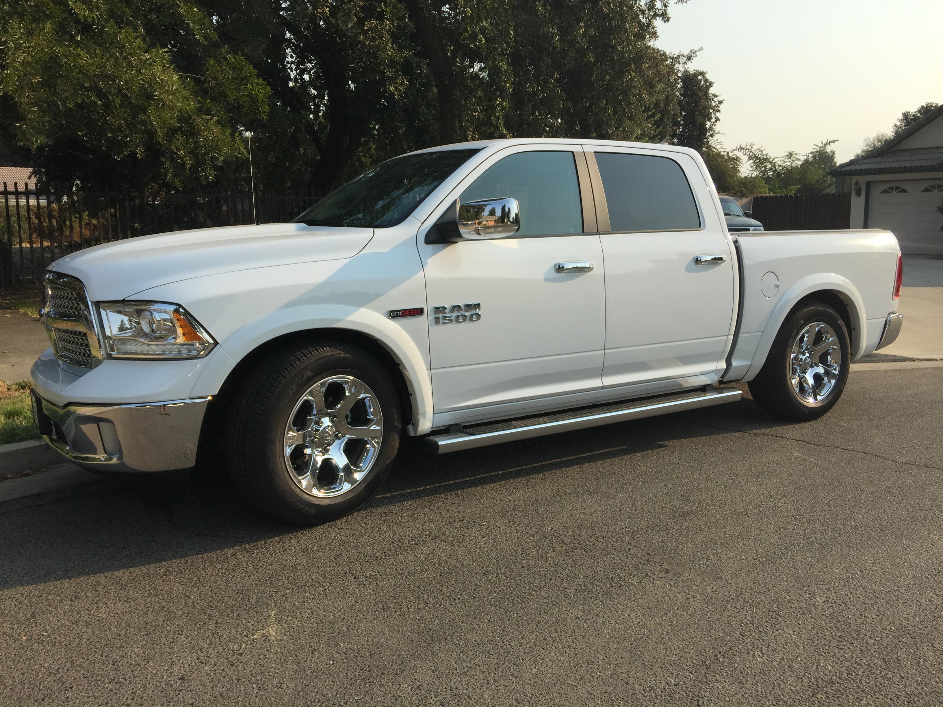 Dodge Ram Ecodiesel >> Lowering my 2wd Laramie