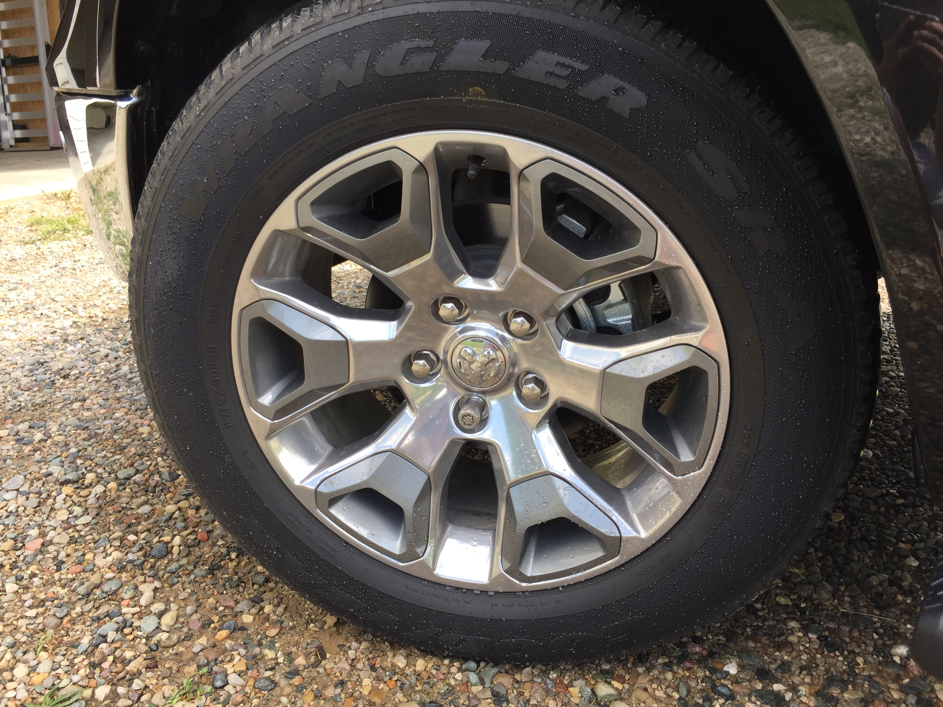 fs 2017 ram 1500 limited wheels and goodyear tires with only 862 miles on them. Black Bedroom Furniture Sets. Home Design Ideas