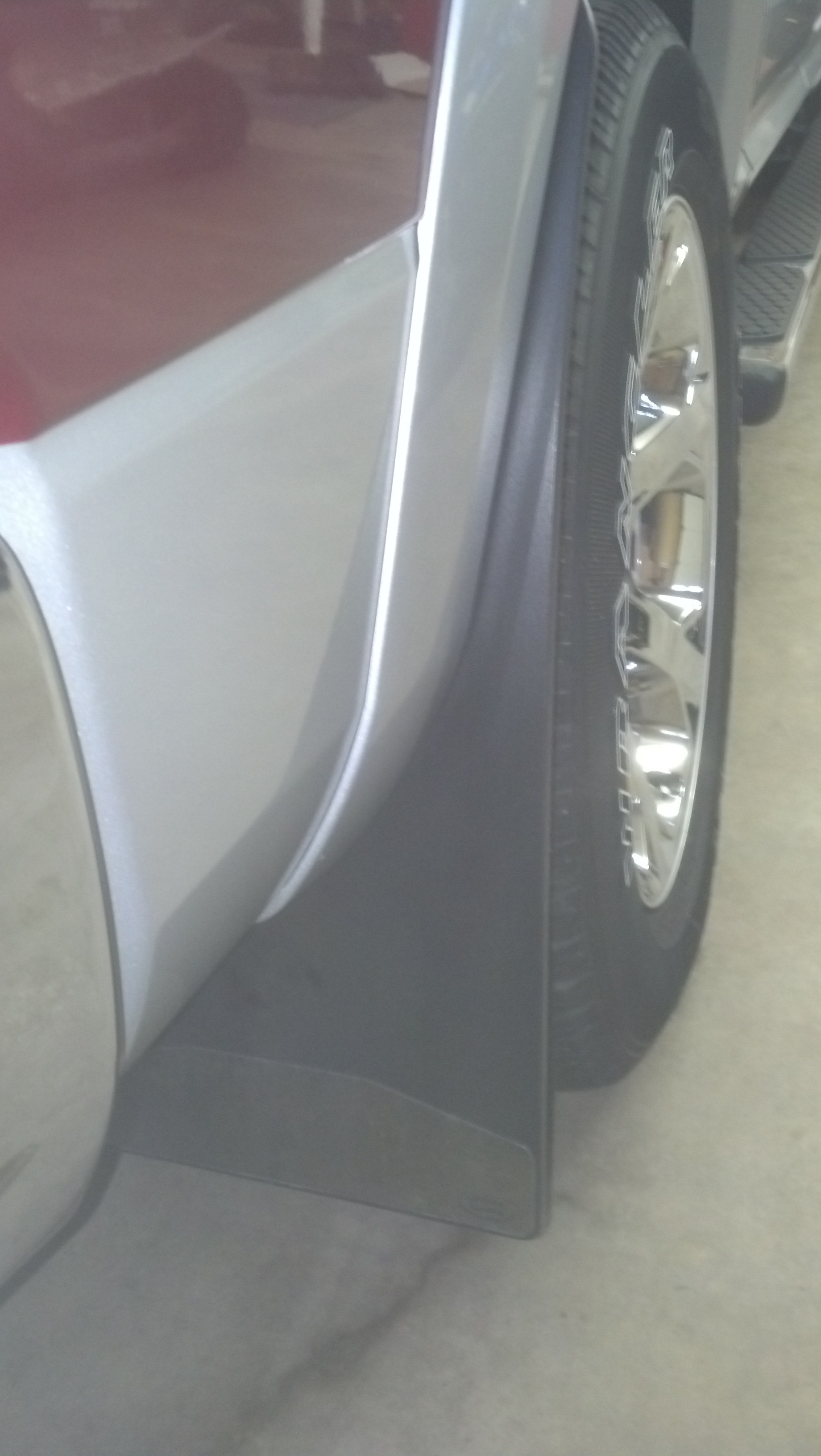 Ram 1500 Side Steps >> Mud Flaps/splash guards for trucks with factory wheel to ...