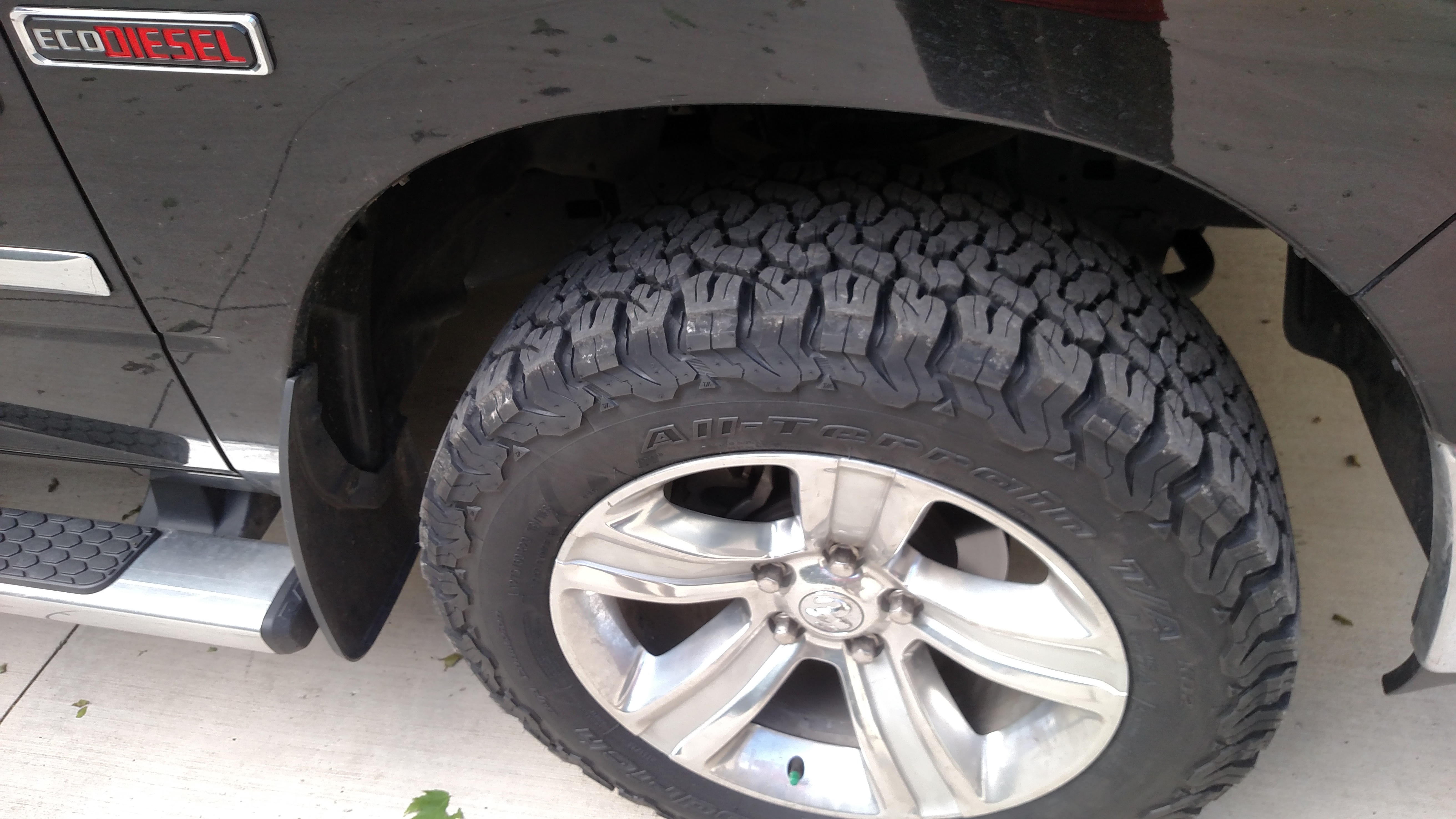 Hankook Truck Tires >> New 275/60r20 Bf Goodrich A/T Ko2 tires installed
