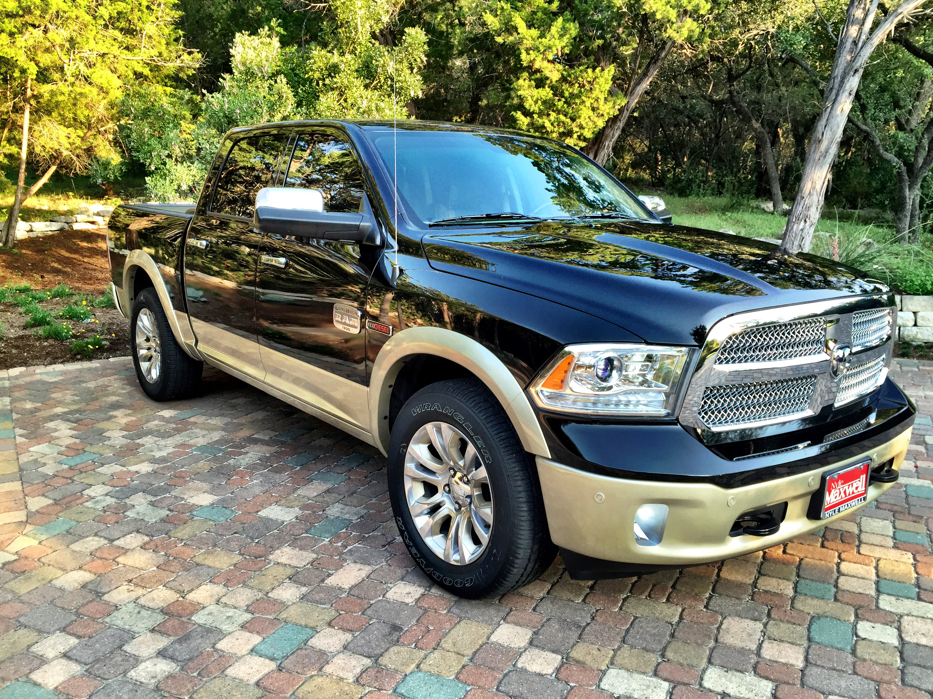 new here 2015 ram 1500 laramie longhorn 2wd. Black Bedroom Furniture Sets. Home Design Ideas