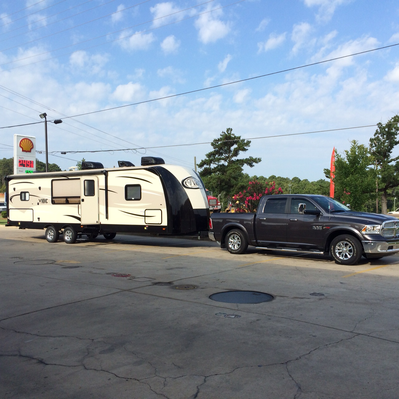 New Travel Trailers: New Vibe Travel Trailer