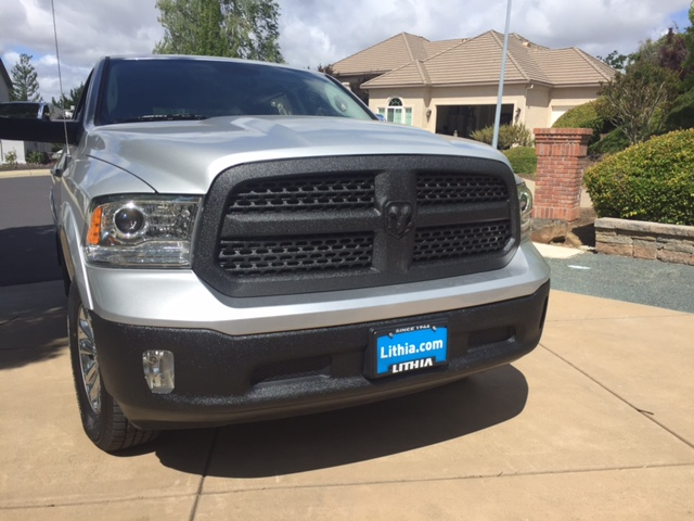 Line X Painted Truck >> Photos of my recently Linex ed bumpers and grill
