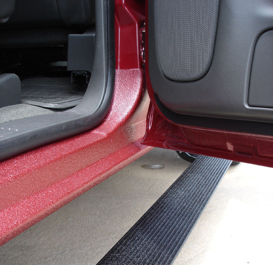 Rhino Truck Bed Liner >> Rocker panel lining