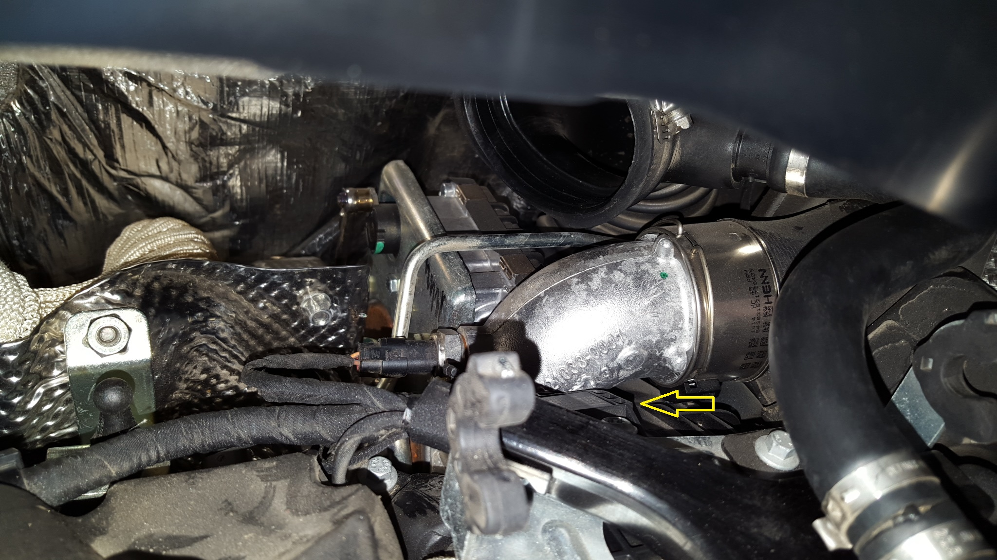 turbo underboost code ford 6.0