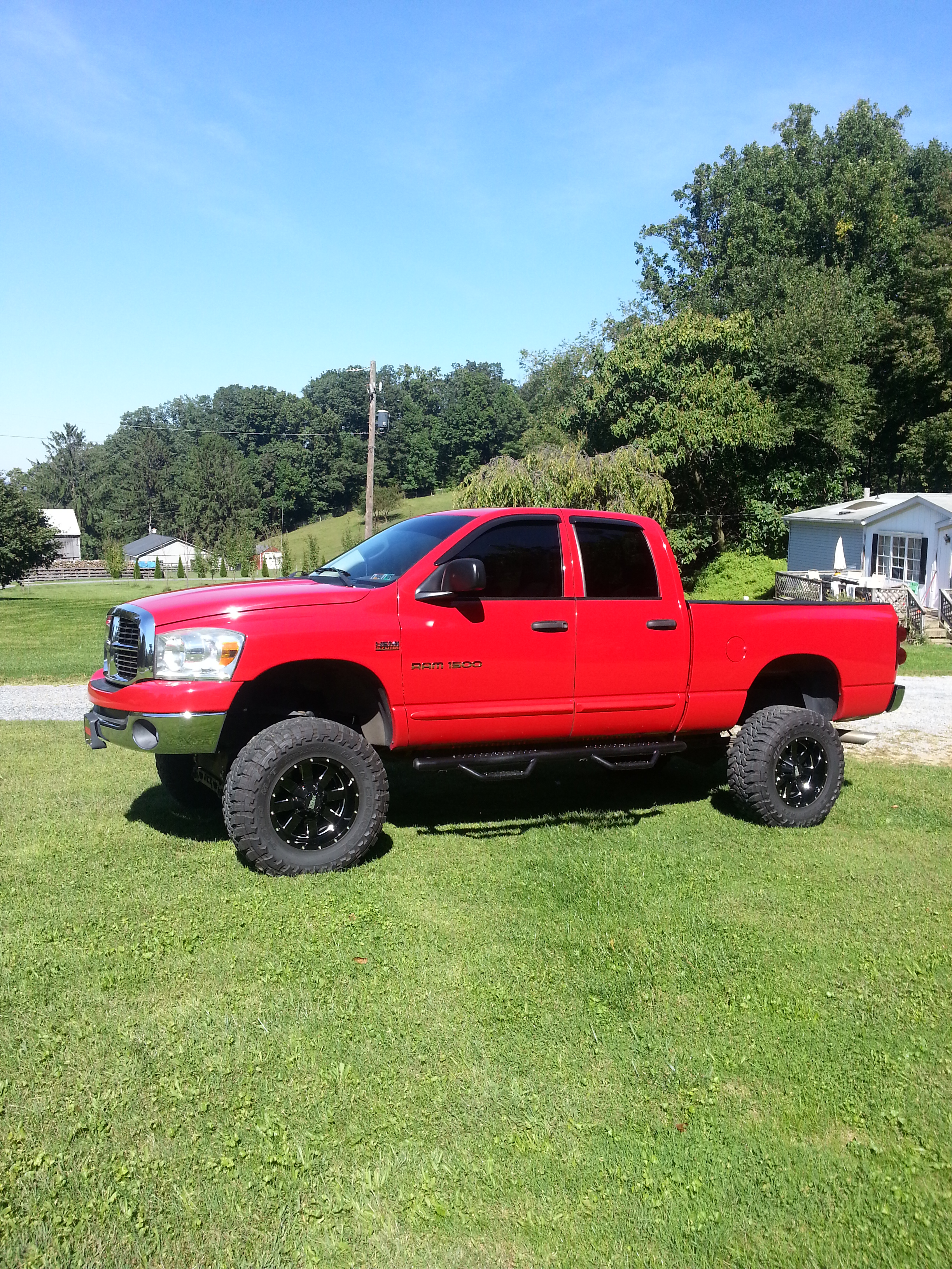 D Think Im Finished New on 2014 Dodge Ram 1500 S