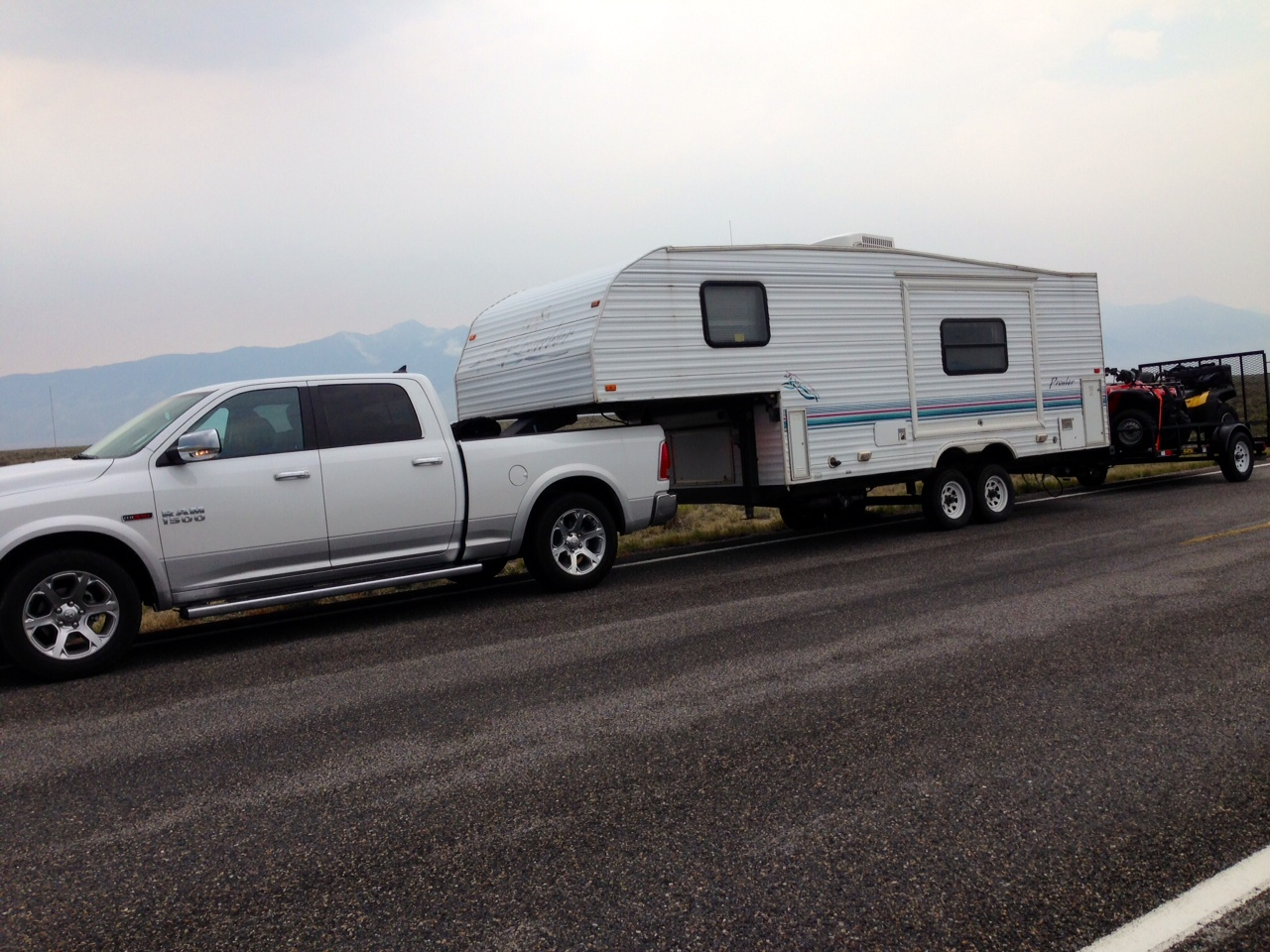 Dodge Ram 1500 Diesel >> 5th wheel Towing Report (with doubles)