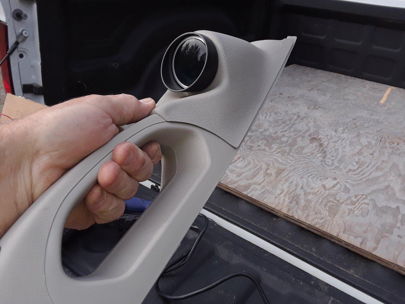 Installing an oil pressure gauge