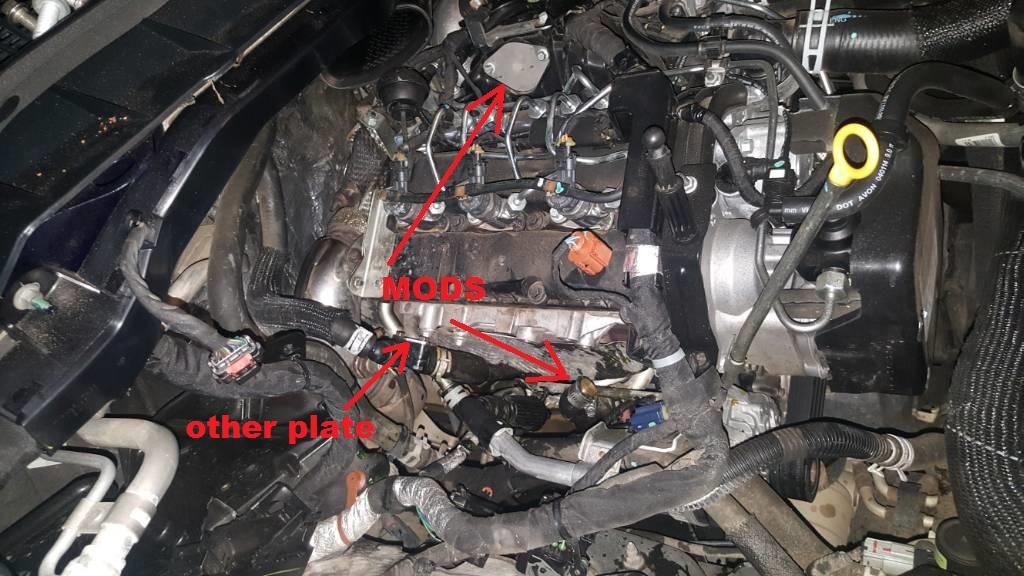 D Egr Delete Questions Same Plate Same Hose on Dodge Ram 4x4