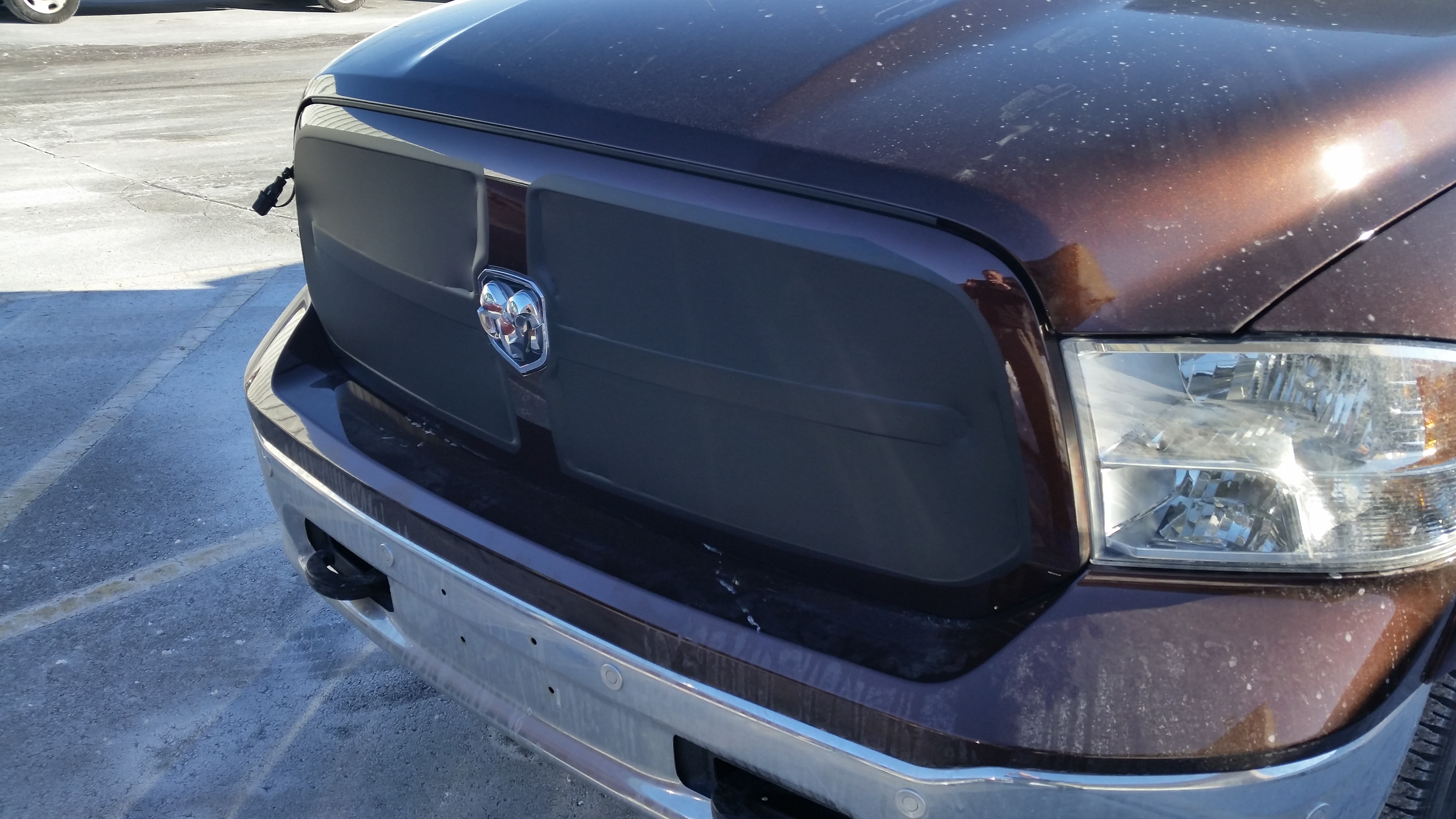 Home Made Vinyl Grill Cover